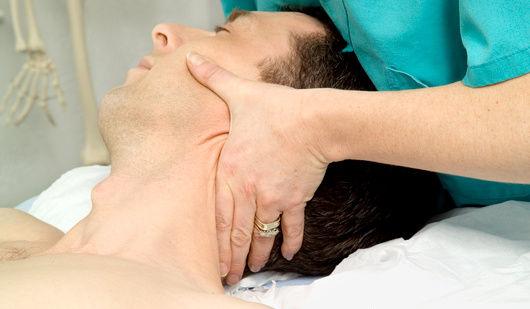 Cervical spine mobilisation treatment