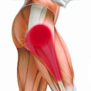 Entumecimiento de en el muslo de la pierna derecha..